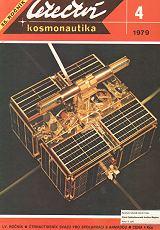 První československá družice Magion (Na titulní straně časopisu L+K č.4/1979 – Foto: V.Jukl)
