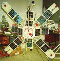 Magion 4 - C2-X (S-2T) - čs.subdružice (1995-039F) - pro průzkum magnetosféry a ionosféry Země
