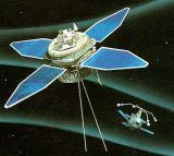 Interbol 2 (1996-050C) - mateřská družice + Magion 5 (1996-050B) - pár satelitů pro sledování procesů v magnetosféře a ionosféře Země