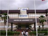 Vchod do řídícího startovního centra č. 3 pro Ariane 5.