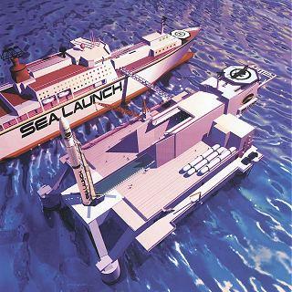 Kresba systému Sea Launch (1999)