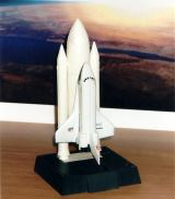 Malý model Space Shuttle (Columbia)