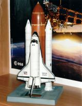 Velký model Space Shuttle (Atlantis)