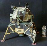 Apollo LM (foto a stavba modelu - Pavel Pech)
