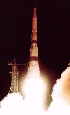 Start rakety N-1 5L (03.07.1969)