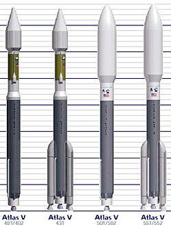 Řada raket Atlas 5