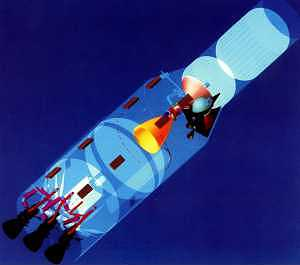 Schema rakety K-1