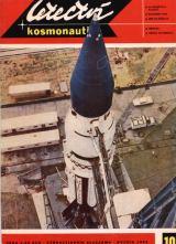 Saturn 1 na startovací rampě na mysu Canaveral - foto na obálce L+K č.10 / 1965 (barevné foto)