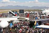 Obr. 3: Letiště v Las Cruces - celkový pohled na výstavu