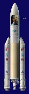 Umístění ARD v raketě Ariane 503