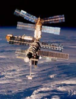 Pohled na stanici Mir (ilustrační foto).
