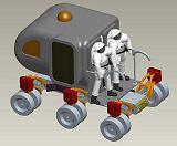 Nově navržený rover