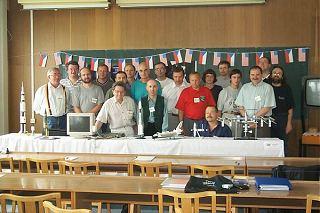 Společná fotografie účastníků setkání (foto T.Přibyl)