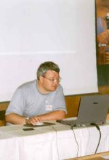 Milan Halousek - hlavní organizátor KNP 2003 (foto D.Lazecký)