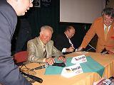 S.Jähn a V.Remek na KNP2006 (vlevo T.Přibyl, vpravo M.Halousek)