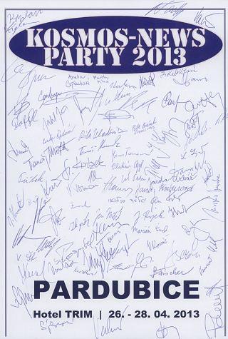 Podpisy účastníků  KNP 2013