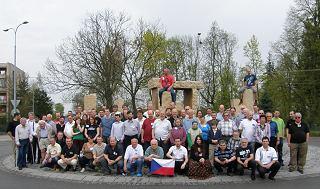 Společná fotografie účastníků  KNP 2013
