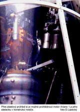 Motorový prostor rakety Ariane 1