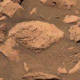 Povrch v kráteru Endurance (MER Opportunity)