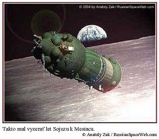 Takto mal vyzerať let Sojuzu k Mesiacu.