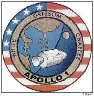 Znak Apolla 1 © NASA