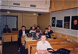 Návštěvníci v přednáškovém sále hvězdárny ve Valašském Meziříčí