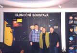 Zleva - M.Halousek, J.Navara a D.Lazecký