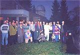Skupinová fotografie účastníků semináře Kosmonautika 2000
