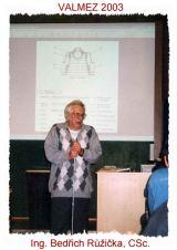 Ing. Bedřich Růžička (foto D.Lazecký)