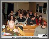 Část posluchárny před přednáškou