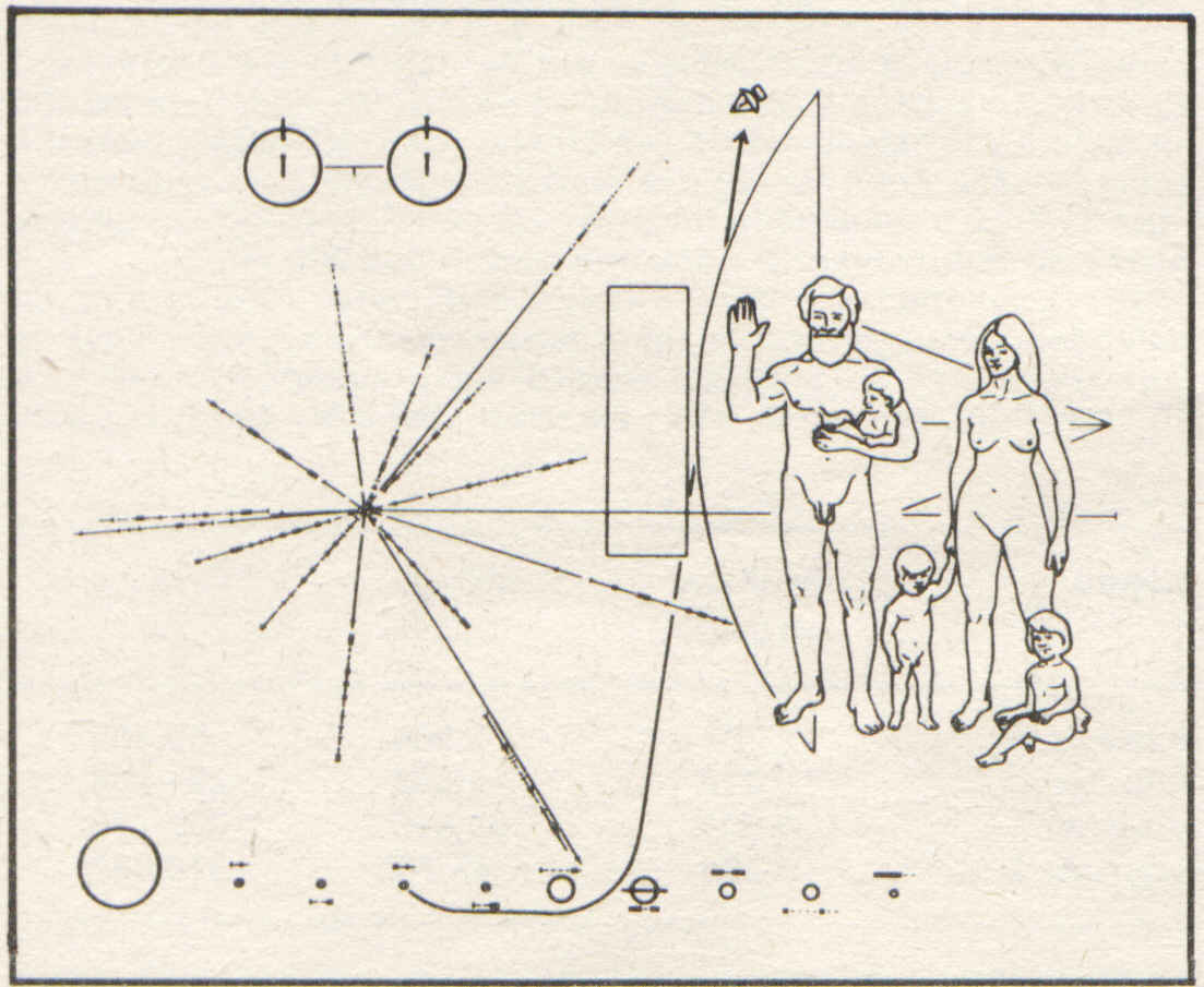 space probe pioneer 10 plaque - photo #15