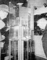 Výstava měsíční horniny (Ondřejov 1970)
