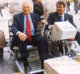 E.Cernan a Rover v Praze 13.3.2002