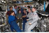 Posádka STS-114 a Expedice 11 na ISS