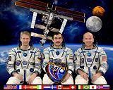 Expedice 13 (zleva: Reiter, Vinogradov, Williams)
