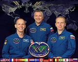 Expedice 15/2 (zleva: Anderson, Jurčichin, Kotov)