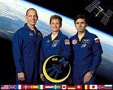 Expedice 16/1 (zleva: Anderson, Whitsonová, Malenčenko)