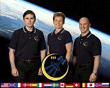 Expedice 16/4 (zleva: Malenčenko, Whitsonová, Reisman)