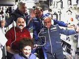 Posádka Sojuzu TM-32 na ISS (30.04.2001)