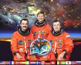 Expedice 3 na ISS (zleva Tjurin, Culbertson, Děžurov)