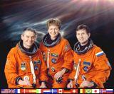 Expedice 5 na ISS (zleva Korzun Whitson[ová], Treščov)