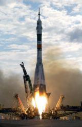 Start Expedice 7 k ISS v Sojuzu TMA-2 (28.04.2003)