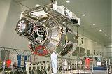 Americký modul Node 1 (Unity) při pozemních testech (1998)
