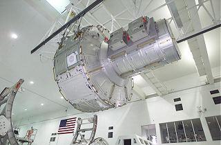 Airlock při předstartovní přípravě v roce 2001