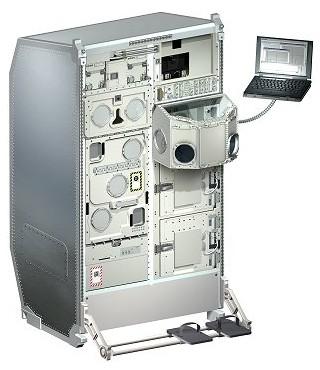 Experimentální skříň Biolab pro modul Columbus na kosmické stanici ISS