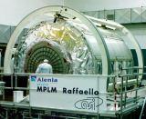 MPLM Raffaello při výrobě v Itálii