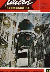 Obr.8) Kosmická loď Sojuz v montážní hale (snímek APN - obálka L+K č.11/1975)