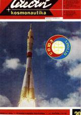 Na titulní straně L+K 20/1975 : Bajkonur 15.července 1975 (Snímek APN) - start Sojuzu 19, znak letu Sojuz - Apollo