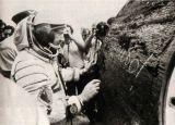 A. Leonov u návratové kabiny Sojuzu 19