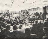 Tisková konference s kosmonauty A.Leonovem a V.Kubasovem v Moskvě (24.07.1975)